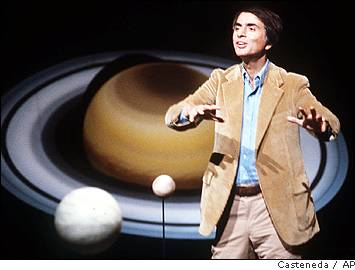 [Carl Sagan in Cosmos]